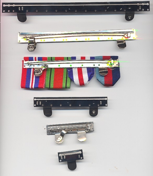 FULL SIZE MEDAL MOUNTING BROOCH BAR 4 SPACE  BRAND NEW
