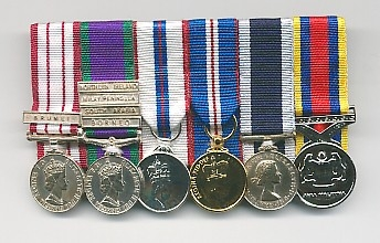 MINIATURE MEDALS - Service Commemoratives - Service Medals, Replica
