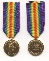 VICTORY MEDAL 1914-1919