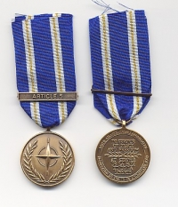 NATO MEDAL for ACTIVE ENDEAVOUR