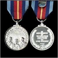 THE MEDAL FOR NATIONAL SERVICE