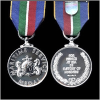 THE MARITIME SERVICE MEDAL
