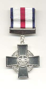 THE CONSPICUOUS GALLANTRY CROSS.
