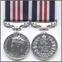 THE MILITARY MEDAL.  King George VI. ISSUE (WW2)