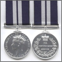 THE DISTINGUISHED SERVICE MEDAL. GEO.VI. ISSUE.