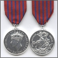 THE GEORGE MEDAL. GEO.VI. ISSUE.