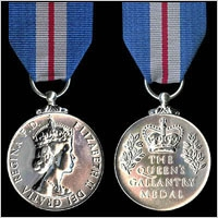 THE QUEEN'S GALLANTRY MEDAL.