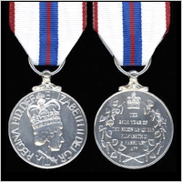 The Queen's Silver Jubilee Medal 1977.