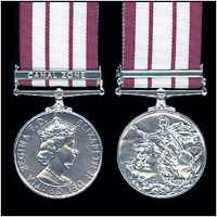 THE NAVAL GENERAL SERVICE MEDAL 1915-1962. EiiR. ISSUE