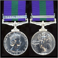 THE GENERAL SERVICE MEDAL. 1918-1964. EiiR. ISSUE