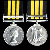 THE AFRICA GENERAL SERVICE MEDAL WITH CLASP: KENYA