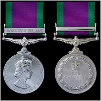 THE CAMPAIGN SERVICE MEDAL. 1962