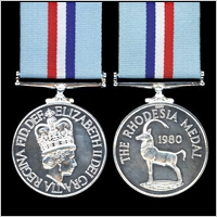 THE RHODESIA MEDAL 1980