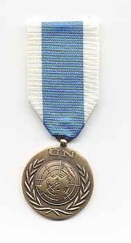 UNSSM: United Nations Special Service Medal. 1994 - present.