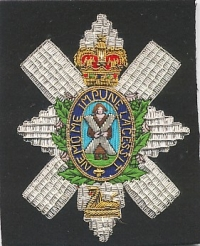 THE BLACK WATCH (THE ROYAL HIGHLAND REGIMENT).
