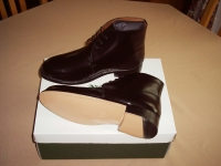 CHROME (ORDINARY) LEATHER GEORGE BOOTS