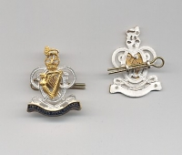 THE QUEENS ROYAL HUSSARS:OFFICERS CAP BADGE