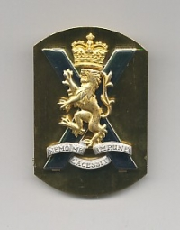 ROYAL REGIMENT OF SCOTLAND: CAP BADGE