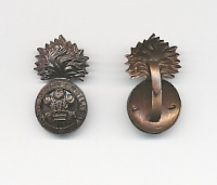 THE ROYAL WELSH FUSILIERS: OFFICERS CAP BADGE
