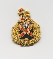 BRITISH ARMY: FIELD MARSHAL'S BERET BADGE