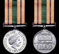 IRAQ RECONSTRUCTION SERVICE MEDAL
