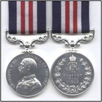 THE MILITARY MEDAL . GEO.V ISSUE. (WW1)