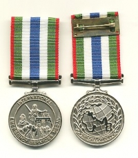 THE INTERNATIONAL EMERGENCY SERVICES  MEDAL.