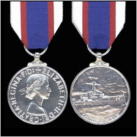 ROYAL FLEET RESERVE LONG SERVICE MEDAL.