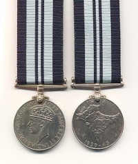 INDIA WAR SERVICE MEDAL 1939-45