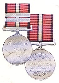 THE WOMEN'S SERVICE MEDAL