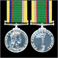 THE CADET FORCES MEDAL. GEO.VI  OR E.II.R