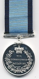 THE CONSPICUOUS GALLANTRY MEDAL (RAF)