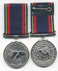 THE FALKLANDS 30TH.,ANNIVERSARY MEDAL 1982-2012