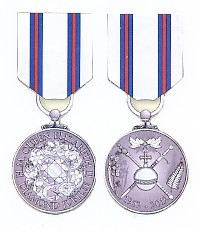 THE QUEEN'S DIAMOND JUBILEE 2012 MEDAL. ( COMMEMORATIVE ISSUE )