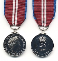 THE QUEEN'S DIAMOND JUBILEE MEDAL. 2012