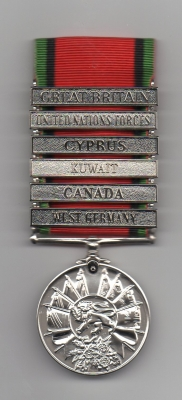 THE ARMY SERVICE MEDAL