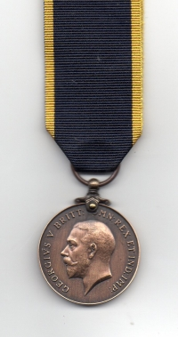 THE EDWARD MEDAL (MINES) GEO.V.  BRONZE TYPE