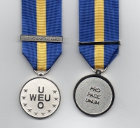 WEO-OEU MEDAL WITH CLASP: EX -YOUGOSLAVIE