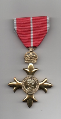 O.B.E. OFFICER OF THE ORDER OF THE BRITISH EMPIRE (MILITARY)