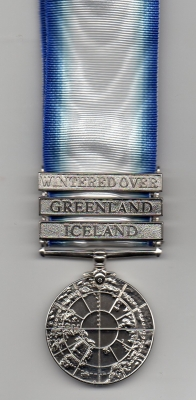 THE NORTHERN SERVICE MEDAL WITH THREE CLASPS