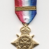 1914 STAR WITH CLASP AUG-NOV 1914