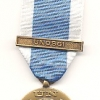 UNITED NATIONS MEDAL WITH CLASP UNOSGI (IRAN)