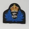 WOMENS ROYAL NAVY SERVICE : OFFICERS CAP BADGE: KING'S CROWN