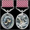 THE AIR FORCE MEDAL GEO.VI. OR E.II.R. ISSUE.