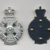 THE RIFLES: OFFICERS CROSS BELT PLATE.