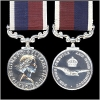 ROYAL AIR FORCE LONG SERVICE and GOOD CONDUCT MEDAL.