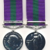 THE GENERAL SERVICE MEDAL 1918-64. GEO.V. ISSUE