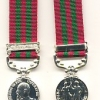 INDIA GENERAL SERIVE MEDAL 1895-1902. E.VII. OBVERSE.