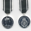 AMBULANCE SERVICE LONG SERVICE MEDAL.