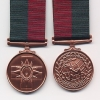 THE INTERNATIONAL COMMANDO SERVICE MEDAL.
